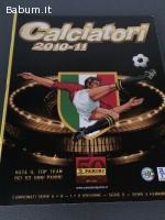 Album vuoto Calciatori 2010-11