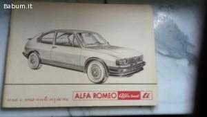 Alfasud TI edizione 05/1980