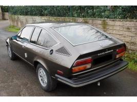 Alfetta Gtv 2000 del 1979 - Glass