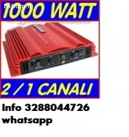 Amplificatore potente auto 1000 wat