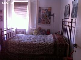 Antico letto metallo in stile