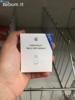 Apple da Lightning a USB Adattatore
