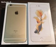 Apple iPhone 6S 16G per 350Euro, co