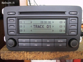 Autoradio originale golf 5