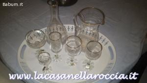 bicchieri cristallo di bohemia