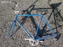 Bici corsa vintage JAGQUES ANQUETIL