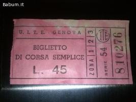 Biglietto U.I.T.E
