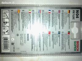 Bosch FR7LDC Renault Clio gpl