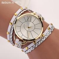 bracciale orologio quarzo donna