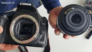 Canon 450D con 18-55 IS