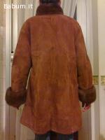 cappotto montone con visone