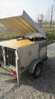 Carrello per trasporto cani