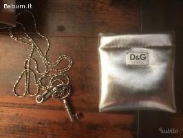 Catenina con ciondolo D&G originale