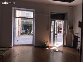 Centrale negozio con soppalco