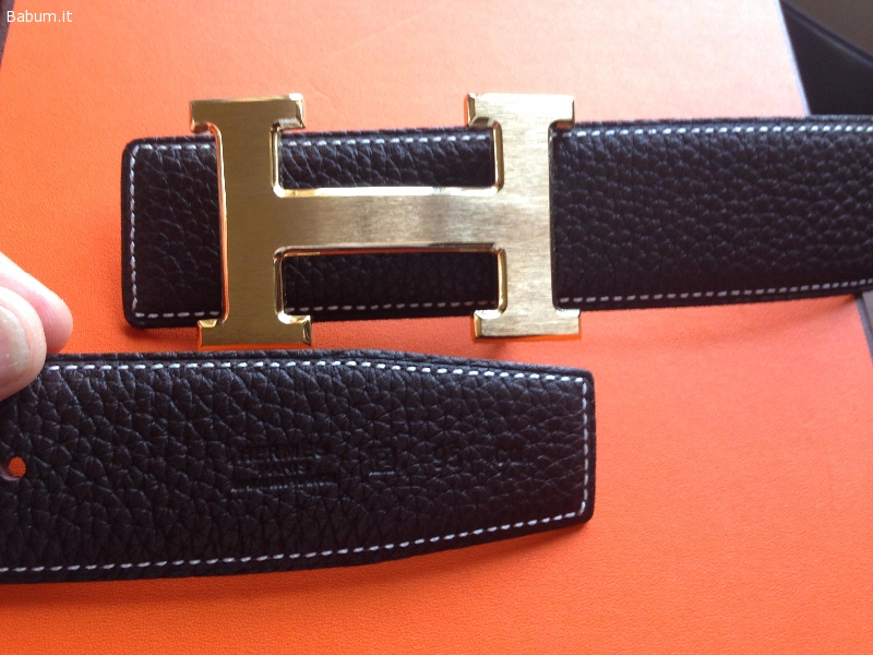 sporco a buon mercato le migliori scarpe ordine Annunci - Uomo - Cintura Hermes Paris doubleface