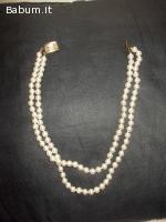 collana perle sintetiche