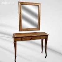 Consolle mobile e specchio