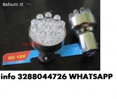 Coppia lampadine a 12 led bianchi -