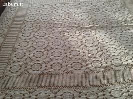 Copritavola/Copriletto Crochet
