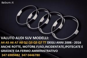 Fuoristrada 4x4 Audi in fermo amm