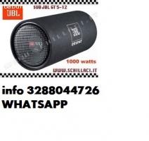Jbl cs1214t 1000w subwoofer chiuso