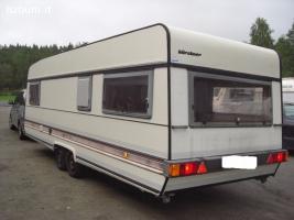 la vendita del mio camper, Bürstner