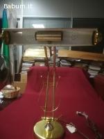 LAMPADA PIANOFORTE NUOVA IN OTTONE