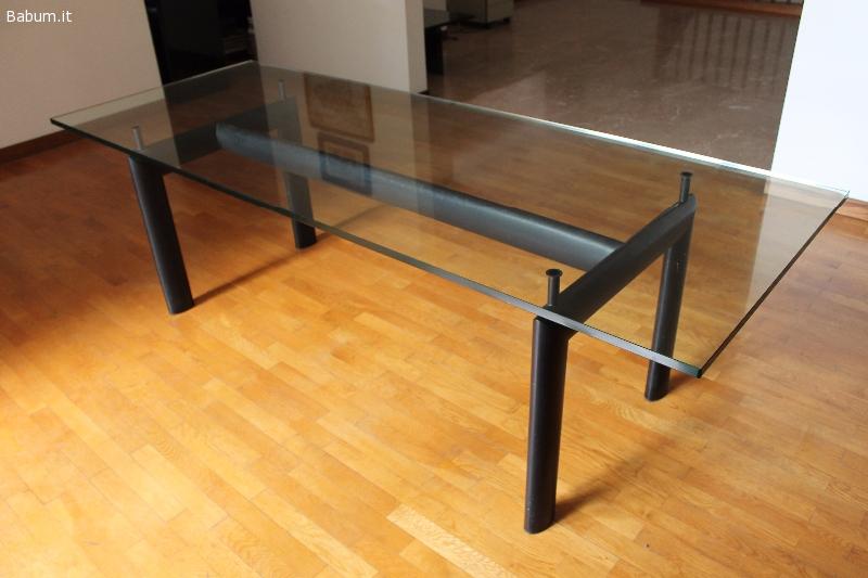 Annunci per la casa lc6 cassina le corbusier autentico - Tavolo cristallo le corbusier ...