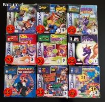 Lotto 9 giochi Game Boy Advance GBA