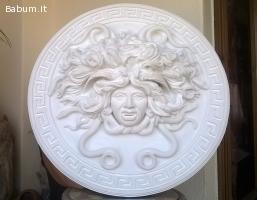 Medusa scultura diametro 49 cm