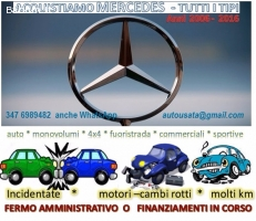 Mercedes incidentate valuto