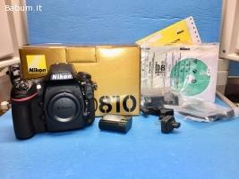 Nikon D810 36,3 MP DSLR