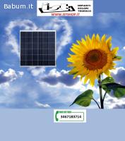 Pannello fotovoltaico 160W kit
