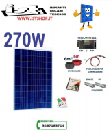 Pannello Fotovoltaico 270W poli