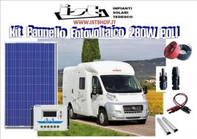 Pannello fotovoltaico 280w policris
