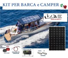Pannello Fotovoltaico per barca kit