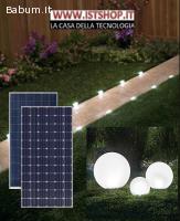 Pannello Fotovoltico per giardino
