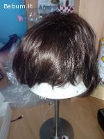 Parrucca donna capelli veri