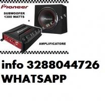 PIONEER GM-A3602 + sub UD-W304R amp