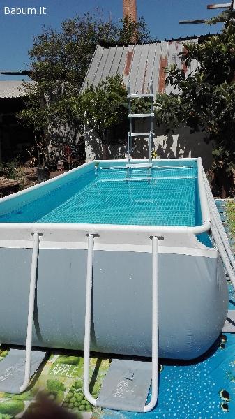 Annunci sport piscina fuori terra intex for Piscina fuori terra 400x200x100