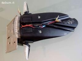 portatarga Racetech+frecce Rizoma