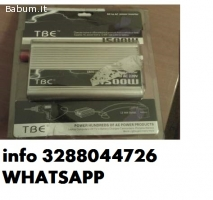 Power Inverter 1500W corrente a 220