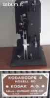 Proiettore vintage kodascope 8 mod
