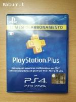 PS Plus 12 mesi (PS4)