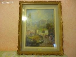 Quadro Paesaggio di R. Brachalet
