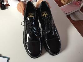 scarpe uomo pelle lucida nr.42 New