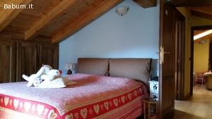 Splendida mansarda in Aosta centro