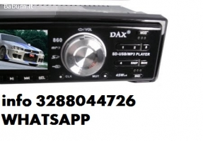 Stereo auto dax autoradio mp3 slot