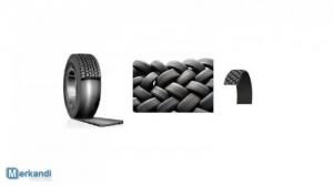 Stock di pneumatici ricondizionati