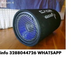 Subwoofer attivo 25cm tubo reflex 1
